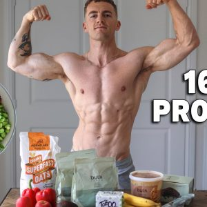 HIGH PROTEIN Vegan Full Day of Eating (simple meals) **165g Protein**
