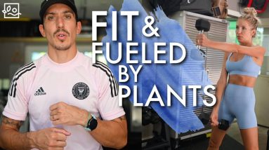 💪How To Build Muscle & Get Fit on a Plant-Based Diet